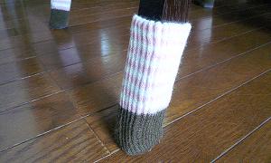 100均で買えるソックスタイプの椅子脚カバーをオススメしない理由