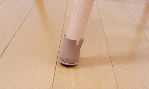 斜め脚の椅子でも床の傷のお悩みがスッキリ解決!