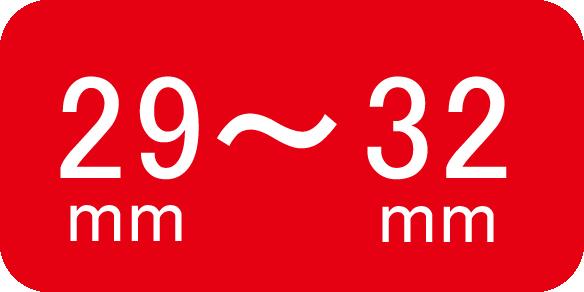 適合サイズ29~32mm