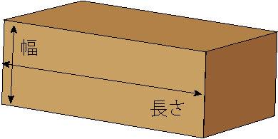 長角脚サイズ計測位置イラスト