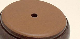 裏側がフッ素樹脂でスイスイ椅子がすべる椅子脚カバー