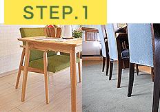 椅子脚カバーを使うことができる床の素材