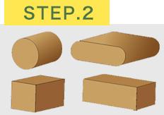 椅子脚カバーを入れるために椅子脚の形をチェック