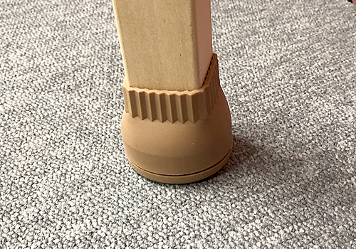 カーペット用家具のスベリ材キャップの画像